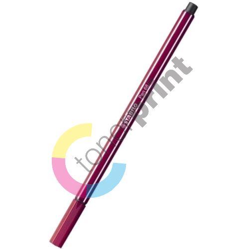 Fix, 1 mm, STABILO Pen 68, purpurová 1