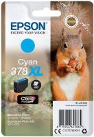 Cartridge Epson C13T37924010, cyan, 378XL, originál