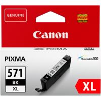 Cartridge Canon CLI-571BK XL, 0331C001, black, originál