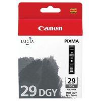 Cartridge Canon PGI-29DGY, 4870B001, dark grey, originál