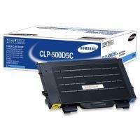 Toner Samsung CLP-500D5C, modrý, originál