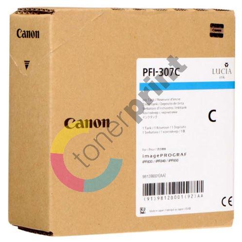 Cartridge Canon PFI-307C, 9812B001, cyan, originál 1