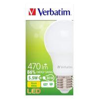 Verbatim LED 52631, E27, žárovka teplá,