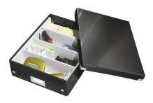 Archivační organizační box Leitz Click-N-Store M (A4), černý