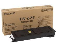 Toner Kyocera TK-675, černý, originál