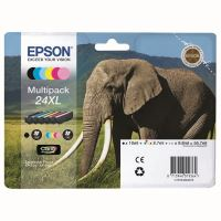 Cartridge Epson C13T24384011, T2438, CMYK/light C/light M, originál