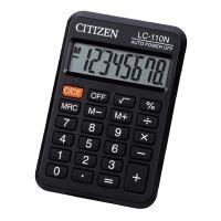 Kalkulačka Citizen LC110NR, černá, kapesní, osmimístná