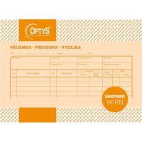 Samopropisovací příjemka, převodka, výdejka A5, 100 listů, OP1087 1