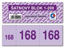 Šatnový blok ET295 1bal/200ks 3