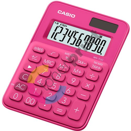 Kalkulačka Casio MS 7 UC RD