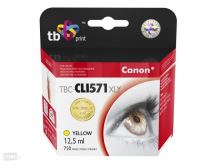 Cartridge Canon CLI-571Y XL, yellow, TB
