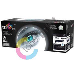 TB toner kompatibilní s HP CC531A, CY, 100% new 1