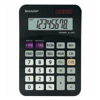 Kalkulačka Sharp EL330FBBK, černá, stolní, osmimístná