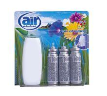 Air Menline Rain of Island Happy spray osvěžovač vzduchu komplet + náplně 3 x 15 ml