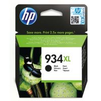 Cartridge HP C2P23AE, black, No.934XL, originál