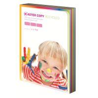 Barevný papír Master Copy EKO duha, 10 barev A4, 100 listů