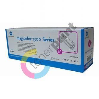 Toner Minolta Magic Color 2300DL, červený, 1710-5170-07, originál 1