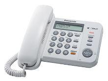 Telefon Panasonic KX-TS 580FXW bílý