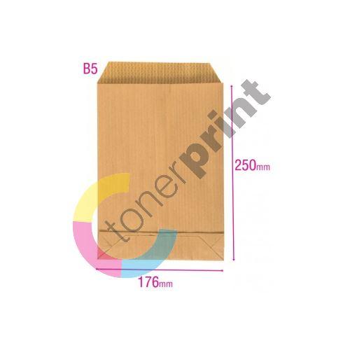 Poštovní taška B5 Aralin, křížové dno, textil 1