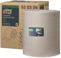 Tork průmyslová čisticí utěrka, role, šedá, W1