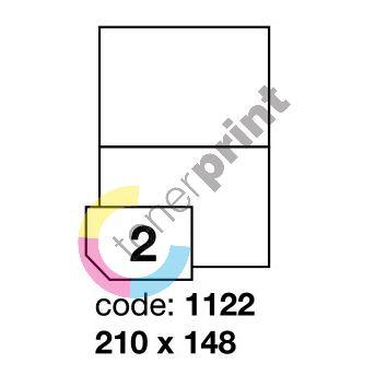Samolepící etikety Rayfilm Office 210x148 mm 100 archů R0100.1122A 1