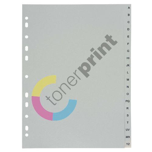 Rozdružovač PVC, A4 A-Z, šedý 1