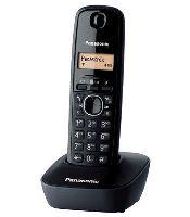 Bezšňůrový telefon Panasonic KX-TG1611FXH černý