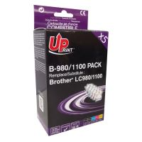 Cartridge Brother LC-980/LC-1100, 2xBK CMY, UPrint