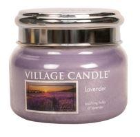 Village Candle Vonná svíčka ve skle, Levandule - Lavender, 11oz