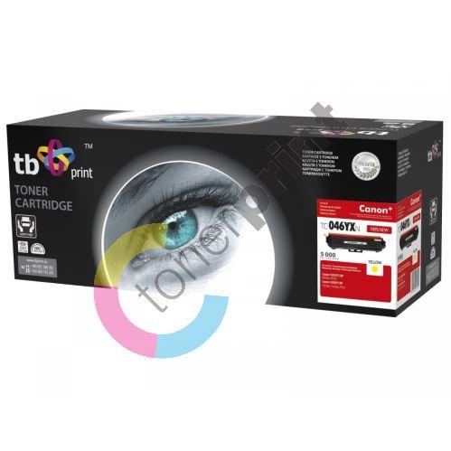 TB toner kompatibilní s Canon 046H, TC-046YXN, Yellow, 5000, new 1