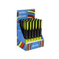 Spoko kuličkové pero 4 CLICK, 4barevné, černé 2