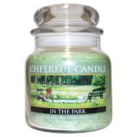 Cheerful Candle Vonná svíčka ve skle Procházka Parkem - In the Park, 16oz