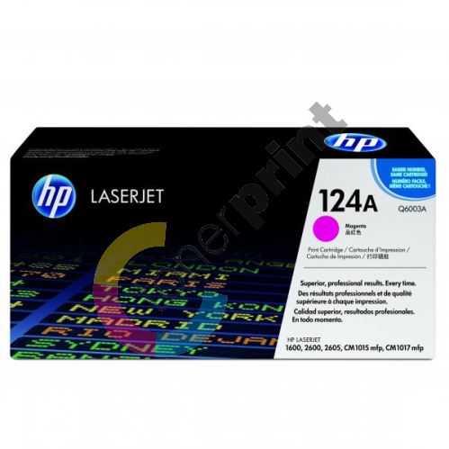Toner HP Q6003A, magenta, 124A, originál 1