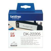 Role samolepící papírová Brother DK-22205 62 mm x 30,48 m