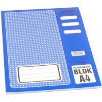 Bobo poznámkový blok A4, 50 listů, čistý 1