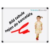 Magnetická bílá tabule 60 x 90 cm Vision Board 1