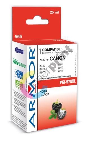 Cartridge Canon PGI-570PGBK XL, black, Armor