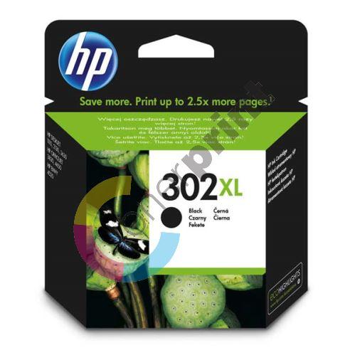 Cartridge HP F6U68AE, No.302XL, black, originál 1