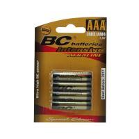 Baterie alkalická mikrotužková 1,5V Extra BC LR03
