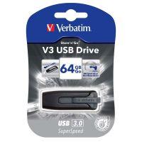 Verbatim 64GB Store'N'Go V3, USB flash disk 3.0, 49174, černá