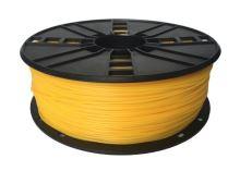 Gembird tisková struna (filament) flexibilní, 1,75mm, 1kg, žlutá
