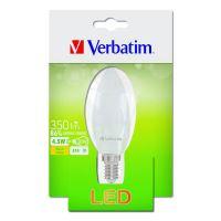 LED žárovka Verbatim E14, 52637, 220-240V, 4.5W, 350lm, 2700k, teplá, 20000h