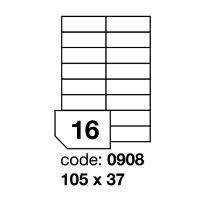 Samolepící etikety Rayfilm Office 105x37 mm 100 archů R0100.0908A 1