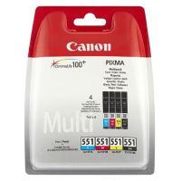 Cartridge Canon CLI-551, CMYK, 6508B005, originál