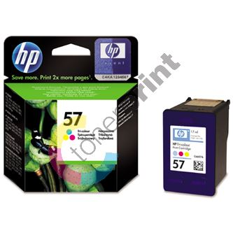 Cartridge HP C6657AE No. 57, originál