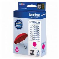Cartridge Brother LC-225XLM, magenta, originál