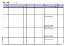 Kniha pohledávek a závazků A4, OP1008