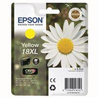 Cartridge Epson C13T18144012, yellow, originál