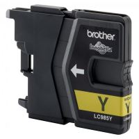 Cartridge Brother DCP-J315W, LC-985Y, yellow, originál