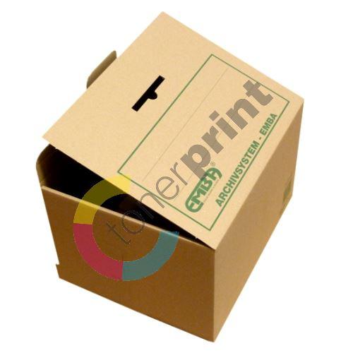 Box archivní skupinový 400x265x335 na 5 pořadačů, Emba 1